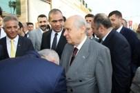 MHP Lideri Devlet Bahçeli Hatay'da