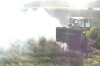 SİGARA İZMARİTİ - Tarla Yangını Çiftçiyi Perişan Etti