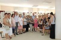 TÜRKAN SAYLAN - Didim Belediyesi'nin Akbük Kursiyerleri El Emeği Ürünlerini Sergiledi