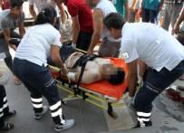 KAYINBİRADER - Didim'de Enişte Kayın Birader Kavgasında Kan Aktı; 1 Yaralı
