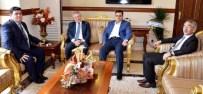 SERKAN BAYRAM - Milletvekillerinden Vali Arslantaş'a Ziyaret