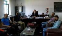 AFET BİLİNCİ - Cemil Yörük Ortaokulu Yönetiminden AFAD'a Ziyaret
