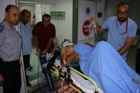 OSMAN ÇAKIR - Kontrolden Çıkan Araç Takla Attı Açıklaması 2 Yaralı