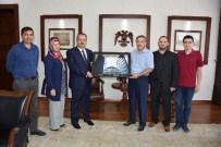 İSLAM ÜLKELERİ - Sağlık-Der, Vali Canbolat'ı Ziyaret Etti