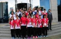AYDıN KOÇ - Türkiye Özel Sporcular Federasyonu'ndan AK Parti'li Karaaslan'a Ziyaret