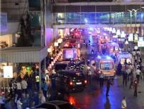 İstanbul Atatürk Havalimanı'nda patlama!