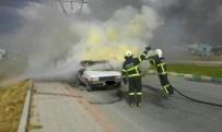 SAKIP SABANCI - Kütahya'da Araç Yangını