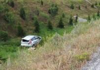 CELEP - Otomobil Şarampole Uçtu Açıklaması 5 Yaralı