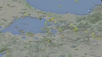 HAVA TRAFİĞİ - Patlama Sonrası İstanbul Hava Trafiği