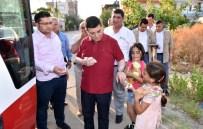 MUSTAFA ÖZSOY - Tütüncü'den Çocuk İlgisi
