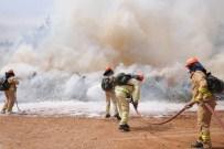 YANGIN HELİKOPTERİ - Afrikalı Ormancılar Yangın Tatbikatında