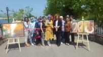 AK Parti Kadın Kolları Halk Eğitim Sergisinde