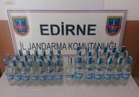 PAŞAYIĞIT - Edirne'de 39 Şişe Kaçak Rakı Ele Geçirildi
