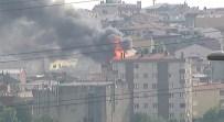 İKITELLI - İstanbul'da Dondurma İmalathanesinde Yangın