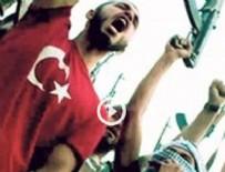 LİBYA BÜYÜKELÇİSİ - Teröriste Türk bayrağı giydirdiler!