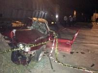 SEFAI - İki Kişinin Öldüğü Feci Kaza Güvenlik Kamerasında