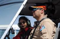 AKROBASİ PİLOTU - 24 Yaşında Türkiye'nin İlk Lisanslı Sivil Kadın Helikopter Pilotu Oldu