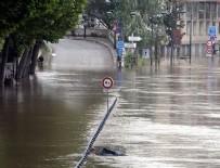 SU TAŞKINI - Fransa'da sel: 4 ölü 24 yaralı