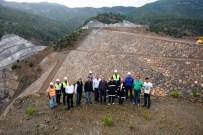 GÖKÇELER - Gökçeler Barajı İnşaatında Çalışmalar Devam Ediyor