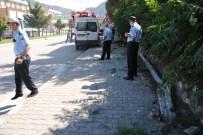 İŞÇİ SERVİSİ - İşçileri Taşıyan Minibüs Çarptığı Direği İkiye Ayırdı