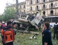 Beyazıt'ta bombalı saldırı sosyal medyada