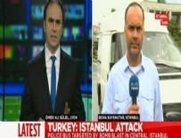 Euronews muhabirinin mikrofonu açık kaldı