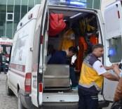 MUSTAFA CAN - Fatsa'da Trafik Kazası Açıklaması 2 Yaralı