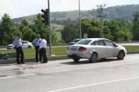 MUSTAFA KARAGÖZ - Samsun'da Trafik Kazası Açıklaması 2 Yaralı
