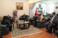 ÇELİK KAPI - Başkan Hiçyılmaz, Singapur Büyükelçisi'ni Konuk Etti