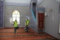 Dörtyol'da Camiler Dezenfekte Çalışması Başlatıldı