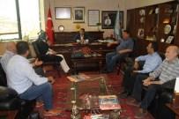 HAREM-İ ŞERİF - Dtb Başkanı Yeşil, Sur Esnafını Dinledi