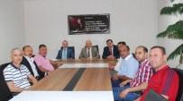 GÜMRÜK MÜDÜRÜ - GTO Başkanı Bartık Ve Uluslararası Nakliyecilerinden Gümrük Müdürü'ne Ziyaret