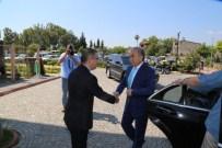 MUSTAFA BÜYÜK - Vali Büyük'ten Başkan Çelikcan'a Veda Ziyareti