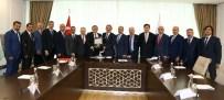 ATO Yönetimi Çevre Ve Şehircilik Bakanı Özhaseki'yi Ziyaret Etti