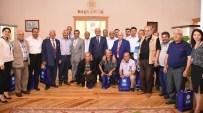 Milaslı Muhtarlar Başkan Gürün'ü Ziyaret Etti