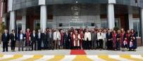 AHMET GÜZEL - Profesörler Törenle Belgelerini Aldı