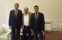 Savcı Kara Ve Aydın'dan Başkan Arslan'a Veda Ziyareti