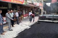 Seydişehir'de Asfaltlama Çalışmaları Sürüyor