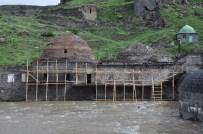 KARS VALİLİĞİ - Tarihi Muradiye Hamamı Yapımına Başlandı