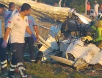 KOCA SEYİT - Eğitim uçağı düştü: 2 ölü!