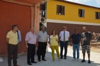 UMURLU - Başkan Özakcan, Mustafa Kemal Yılmaz Parkı'nda Çalışmaları İnceledi