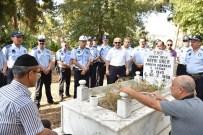 CIKCILLI - Belediye Zabıta Ekipleri, Üner'i Mezarı Başında Andı