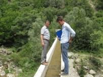 AKÇAKESE - Kaymakam Güney, Sulama Kanalı İnşaatını İnceledi