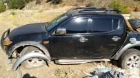 Derebucak'ta Trafik Kazası Açıklaması 2 Yaralı