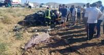 İki Otomobil Çarpıştı Açıklaması 2 Ölü, 6 Yaralı
