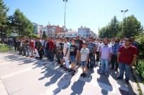 BIÇAKLI KAVGA - Konya'da Protesto Yürüyüşü