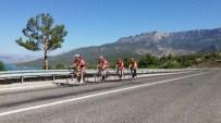Bayan Bisikletçiler Türkiye Şampiyonası İçin Ermenek'te Kampa Girdi