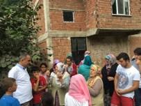 İBRAHIM SAĞıROĞLU - İkisu Grup Yolu'nu Ulaşıma Kapatan Kadın Ve Çocuklara Başkan Sağıroğlu'ndan İkna Çabası