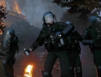 EURO 2016 - Paris'te maç sonrası olaylar çıktı