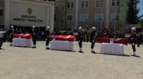 EMEKLİ UZMAN ÇAVUŞ - Şanlıurfa'da Silahlı Saldırıda Şehit Olan 3 Polis İçin Tören Düzenlendi